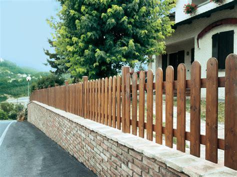 recinzione giardino in legno recinzioni in legno losa legnami