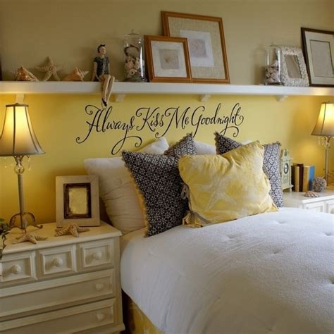 instead of a headboard shelf above the bed instead of a headboard home decor