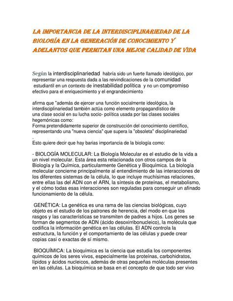 ensayos para despedir una generacion apexwallpapers com interdisciplinariedad de la biologia jahoska garcia by