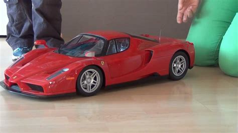 Ferrari Xxl driving ferrari enzo xxl rc car youtube
