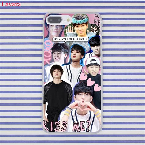 lavaza kpop exo lucky one hard coque shell phone case for lavaza kpop seventeen jeonghan 17 hard coque shell phone