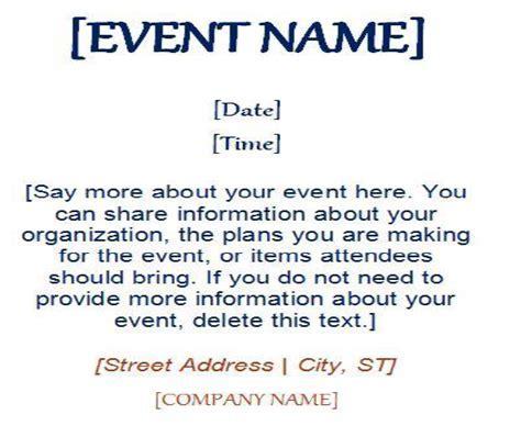 Email Marketing Event Invitation
