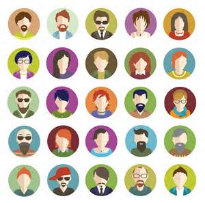 Home Design Game App by Set Of People Flat Icons By Vectorgirl Graphicriver