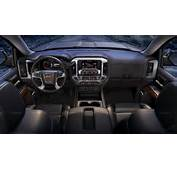 2014 GMC Sierra SLT Interior Front Dash View From The Rear
