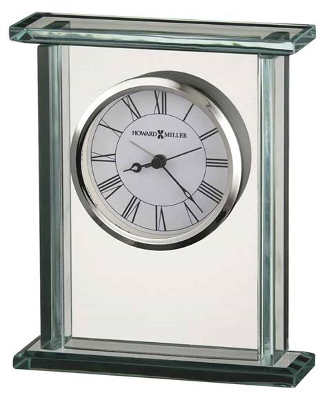 howard miller 645 643 cooper glass table clock the clock