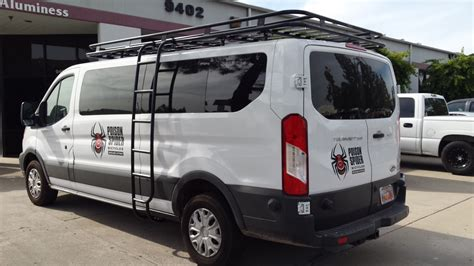 Ford Transit Roof Racks Used by Ford Transit With Aluminess Roof Rack And Ladder Going To
