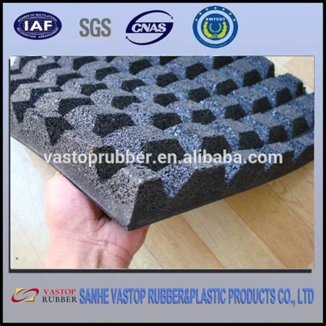 1 inch picture mat high quality shock absorption recycled 1 inch thick rubber