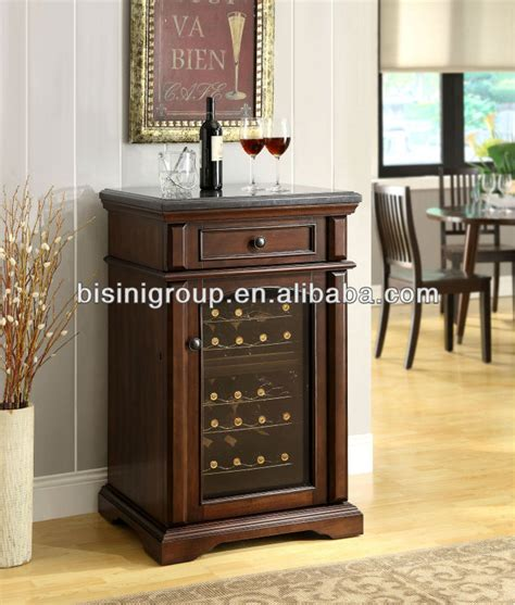 wooden wine cooler cabinet bisini mini wooden electric wine refrigerator bf09 42033