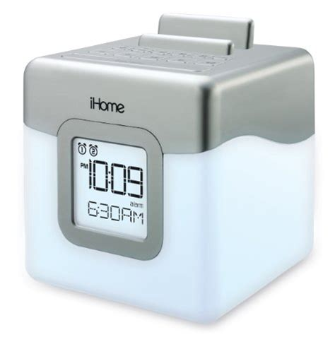Ihome L by Ihome Ihm28w2 Color Changing Alarm Clock Fm Radio With Usb Charging New Ebay