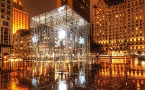 Apple Wallpaper New York   apple inc central park new york city glass wallpaper