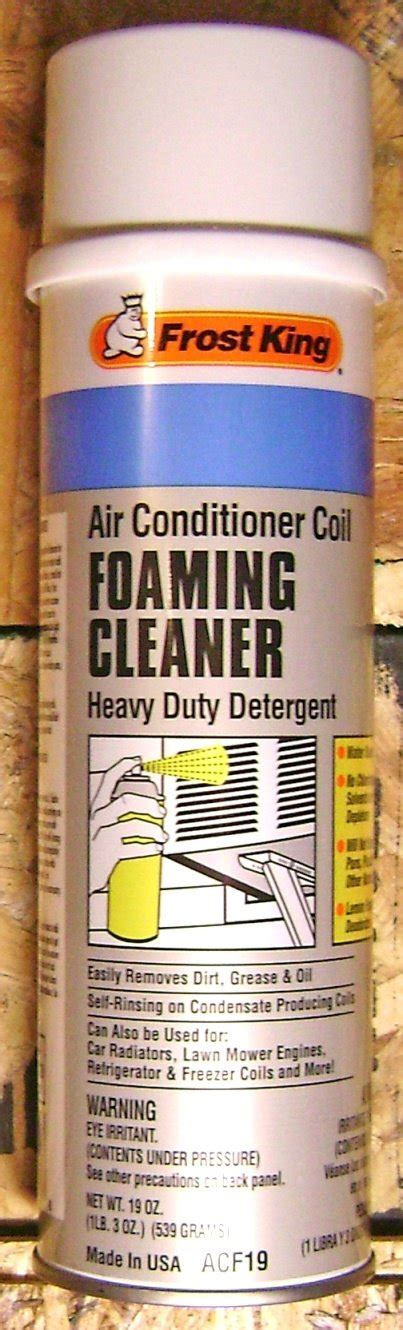 Air Conditioner Cleaner how to clean ac evaporator coils foaming coil cleaner