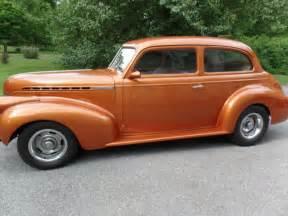 1940 chevrolet 2 dr sedan