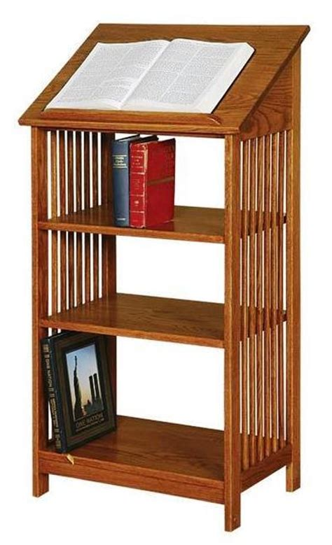 Top Shelf Dictionary by Amish Arts And Crafts Dictionary Bookcase Or Podium