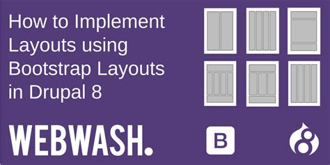how to create layout using bootstrap how to implement layouts using bootstrap layouts in drupal