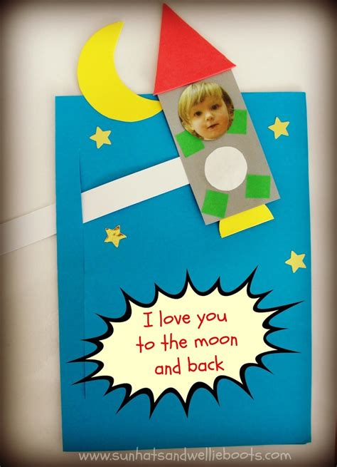 to the moon and back valentines day card template sun hats wellie boots i you to the moon and back