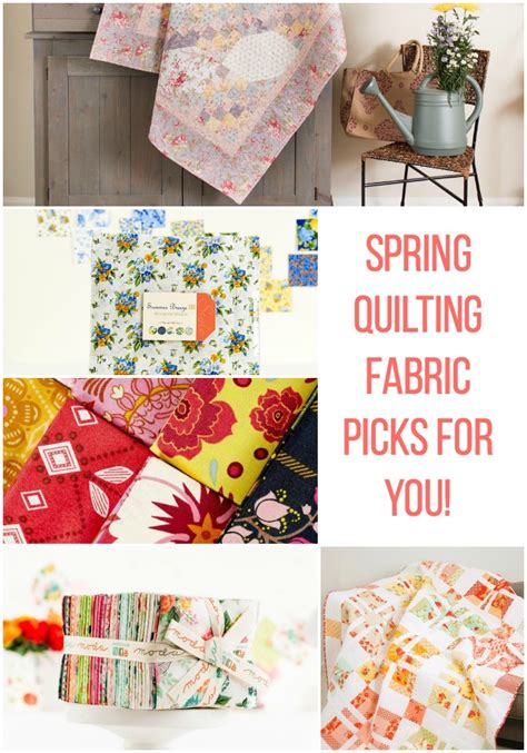 fabric crafts spring quilting fabric picks soft floral and botanic