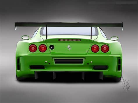 A Ferrari Sports Car Is An Exle Of An Unsought Good by Ferrari Car Back View Hd Wallpaper