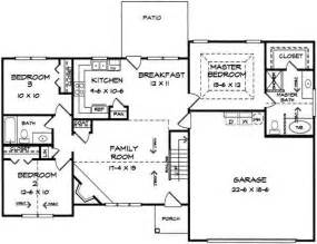 Split Ranch Floor Plans Ranch Split Bedroom Floor Plans Split Home Plans Ideas Picture