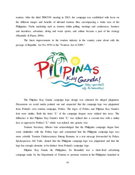 tourism dissertation topics tourism thesis philippines