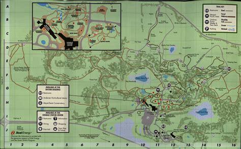 Minnesota Landscape Arboretum Trail Map Map