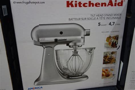 Kitchen Mixer Costco Costco Sale Kitchenaid 5 Quart Tilt Stand Mixer With