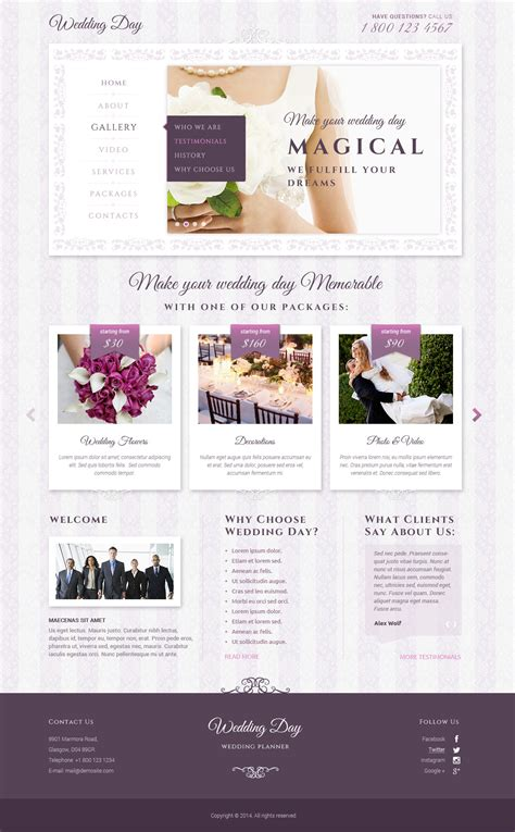 bootstrap themes free wedding wedding bootstrap template id 300111824 from bootstrap