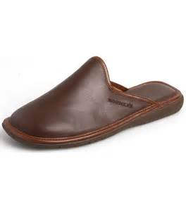 Norwood leather mule by nordika slippers from fife country