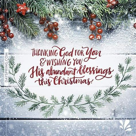 thanking god   wishing   abundant blessings  christmas christmas wishes