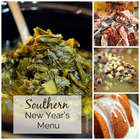 traditional southern new year s southern new years menu collage add a pinch