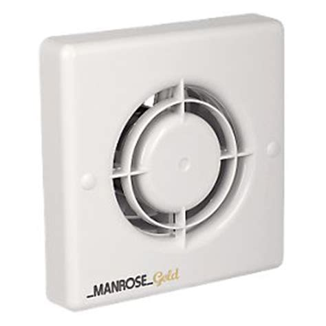 extractor fan bathroom not working manrose mg100s 20w gold standard long life axial bathroom