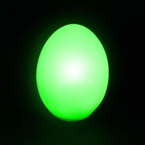change light led colour changing egg light