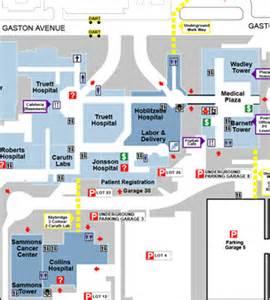 Baylor Dallas Map labor amp delivery