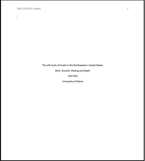 Apa Cover Letter Example – Apa Cover Letter Format   Best Template Collection