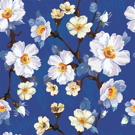 beautiful pattern seamless floral wallpapers floral patterns freecreatives