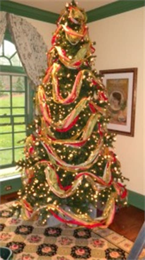 pop up ribbon christmas tree bq how to decorate a tree todd richesin interiors llc