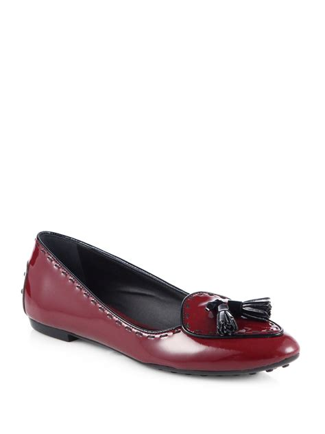 tods tassel loafer tod s belgium patent leather tassel loafers in
