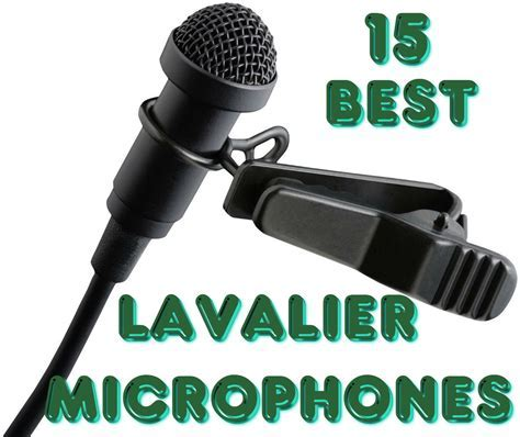 15 Best lavalier microphones total review   Microphone top