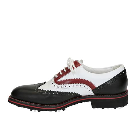 Handmade Leather Golf Shoes - custom golf shoes handmade in italy in genuine leather