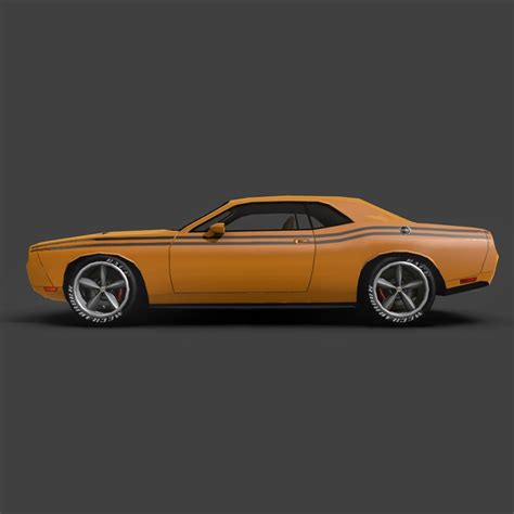 dodge challenger str8 free dodge challenger str8 3d model