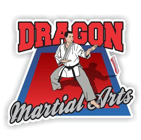 Martial Arts 4 martial arts decals