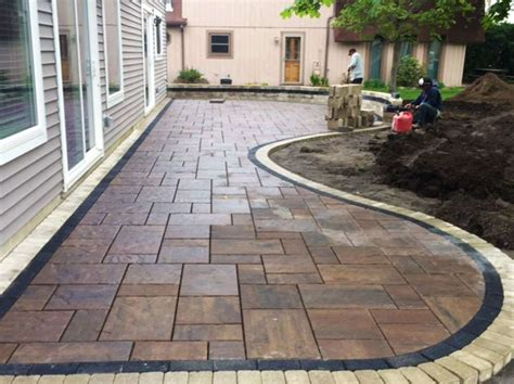 Install Paver Patio Expert Paver Patio Installation Beauchbeauch