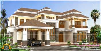 Home Design For 4000 Square Feet by 4000 Square Feet Luxury Home Kerala Home Design And
