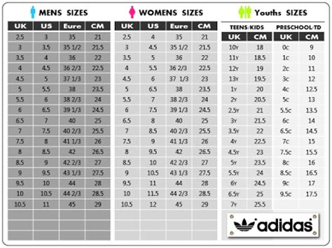 adidas superstar size chart shoes shoe size chart shoe size conversion size chart