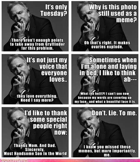 Alan Meme - alan rickman funny quotes quotesgram