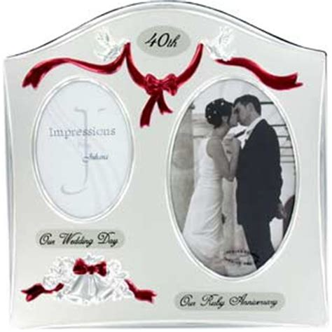 Wedding Anniversary Gift Stores by The Choices For 40th Wedding Anniversary Gifts
