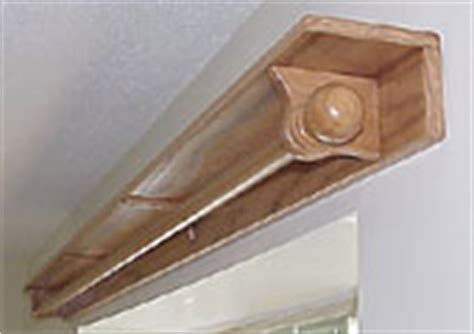 curtain rod shelf curtain rod woodworking plans and information at