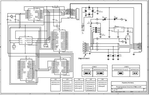 ponyprog circuit for atmel s avr electronics lab