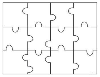 puzzle template puzzle