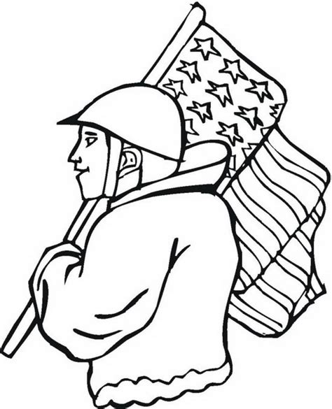 More Coloring Pages For Veterans Day Veterans Coloring Pages