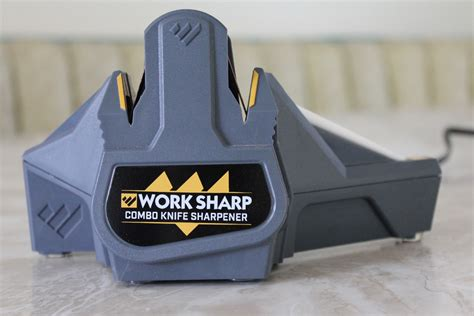 work sharp sharpener review work sharp wscmb combo knife sharpener review knife depot